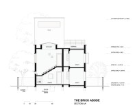 The Brick Abode - Section AA_ - Alok Kothari Achitects