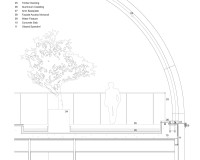 12_Koichi Takada Architects_ARC_ROOFTOP ARCH DETAIL SECTION_WITH TEXT