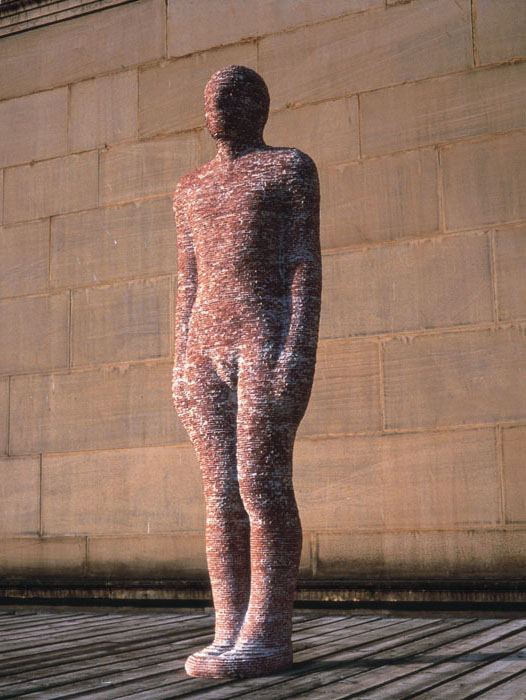 Antony Gormley, Brick Man