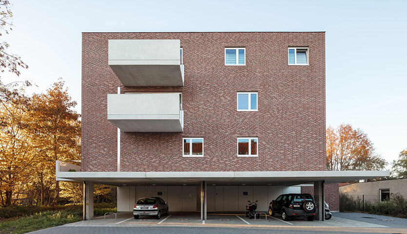 7 Units of Social Housing / Atelier Tom Vanhee