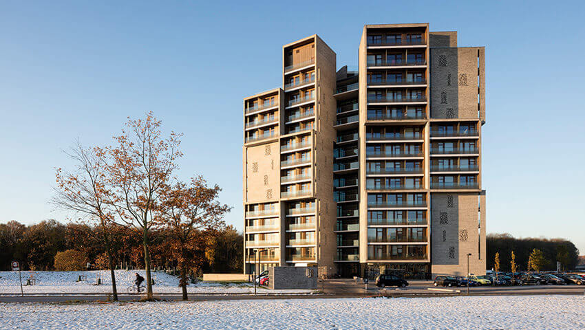 Campus Hall - Student Housing for the University of Southern Denmark / C.F. Møller Architects