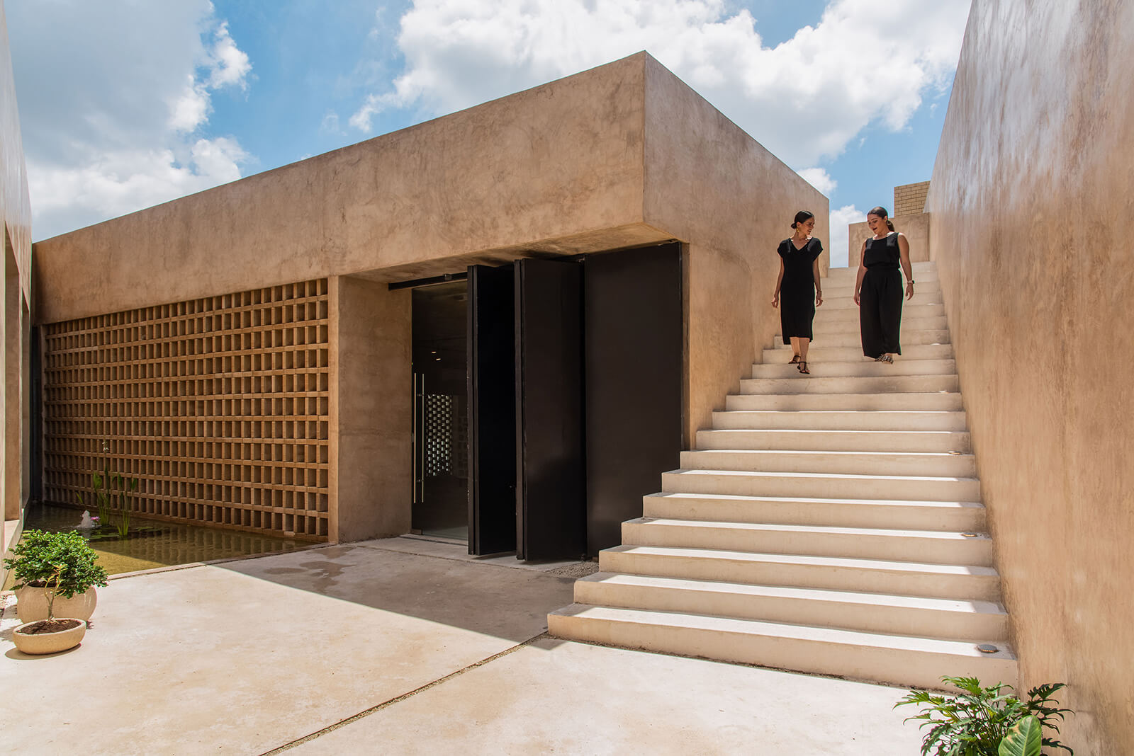 Concrete to render a Contemporary Look