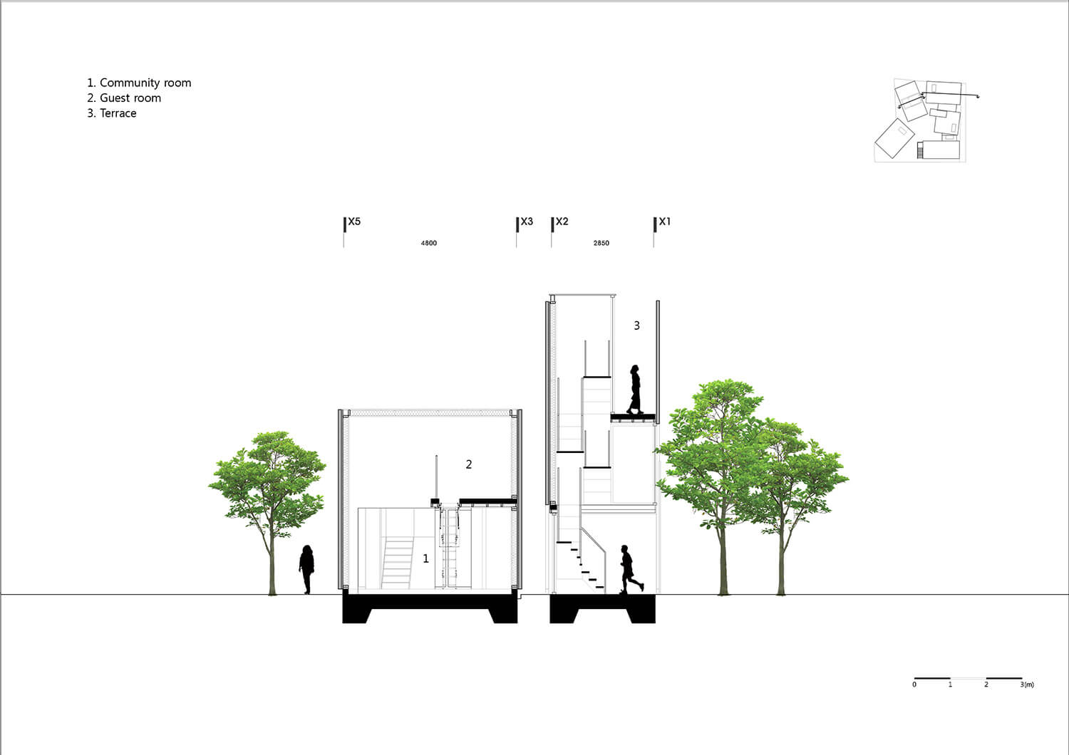 © Courtesy of YounghanChung Architects - Five Trees / YounghanChung Architects