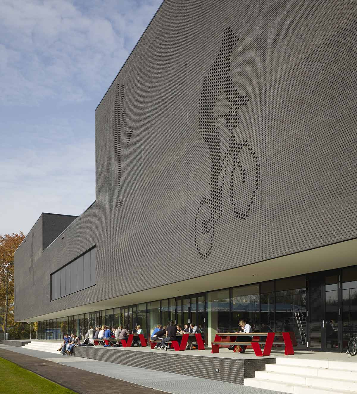 ©Christian Richters / Fontys School of Sport Studies / Mecanoo