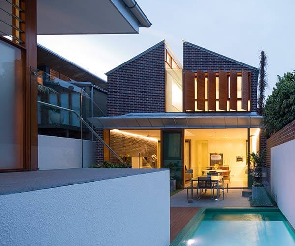 Green house carter williamson architects - Maison camperdown carter williamson architects ...