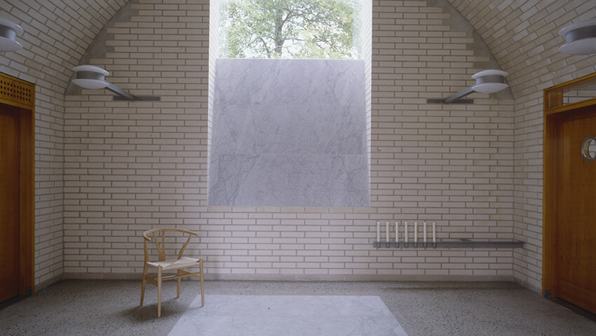Mortuary at Asker Crematorium / C-V. Hølmebakk
