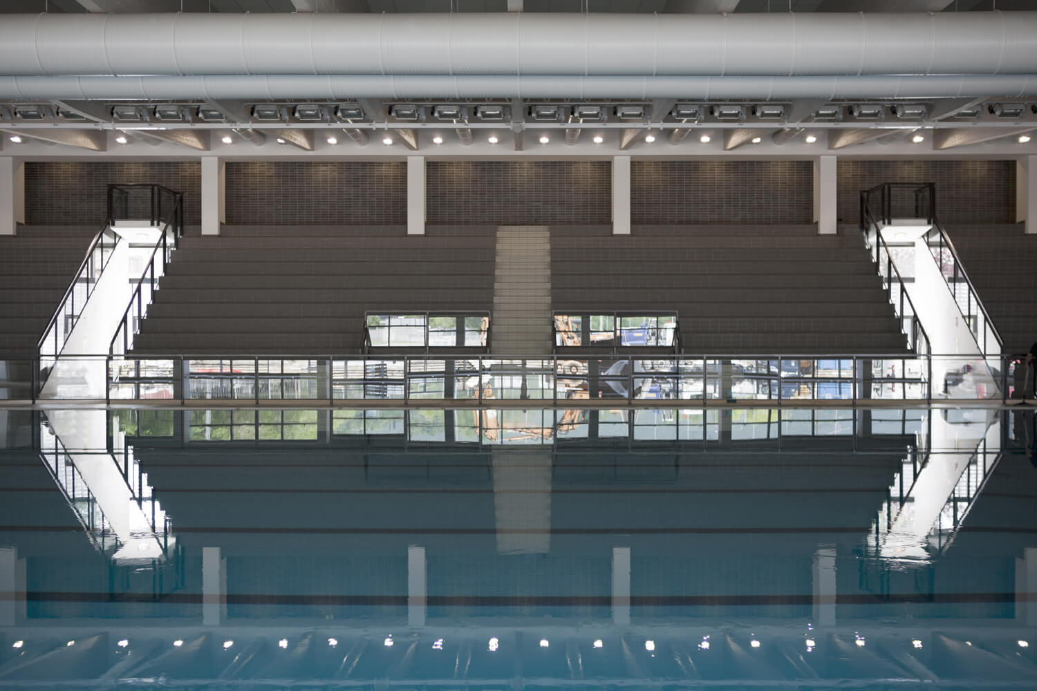 © Alessandro Galperti - New Swimming Center in Brescia / Camillo Botticini + Francesco Craca + Arianna Foresti + Studio Montanari + Nicola Martinoli