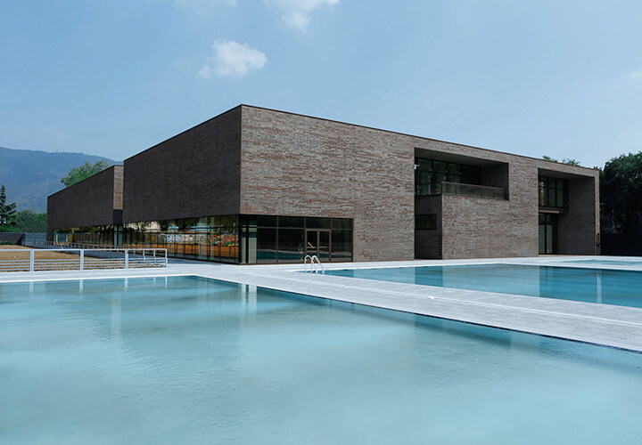 New Swimming Center in Brescia