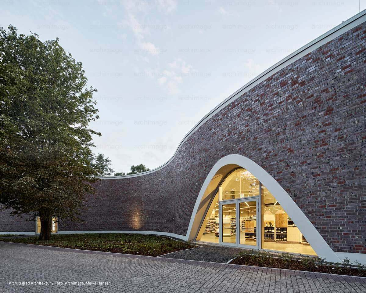 Retail store supermarket neun grad architektur - Neun grad architektur ...