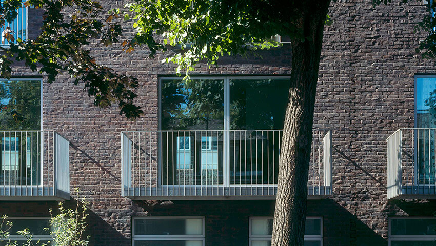 Vassall Road housing / Tony Fretton Architects Ltd