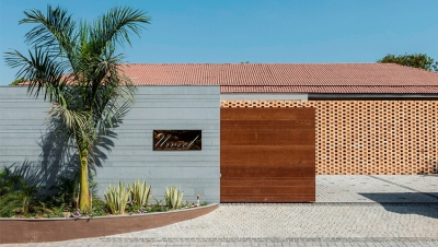 Tropical House Urveel / Design Work Group