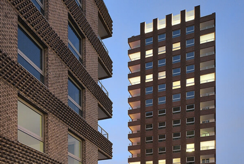 Westkaai Towers 5 & 6 / Tony Fretton Architects