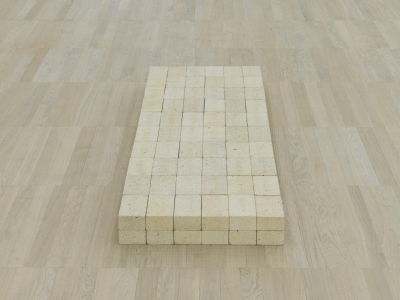 Bricks as a powerful medium of communication in art